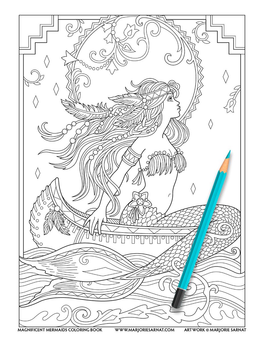 Native American Mermaid