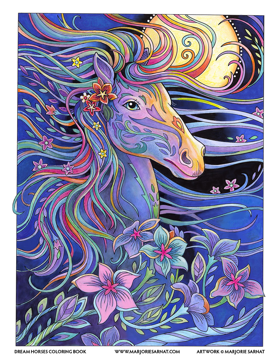 DREAM HORSES - AVAILABLE FOR LICENSING
