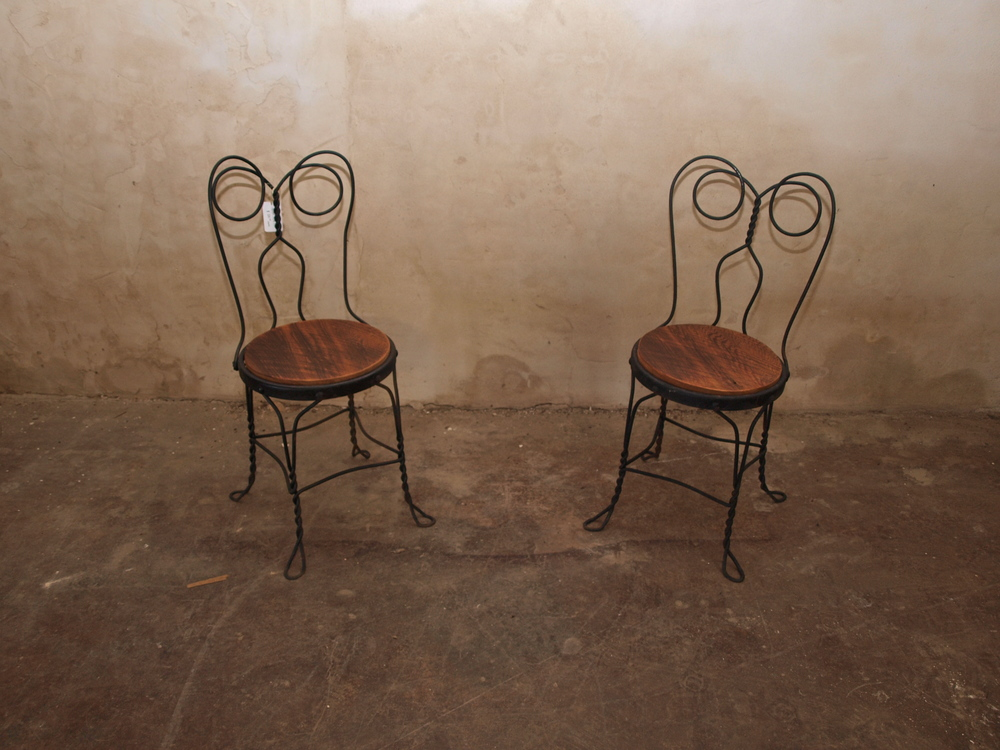 Detailed Iron Chairs