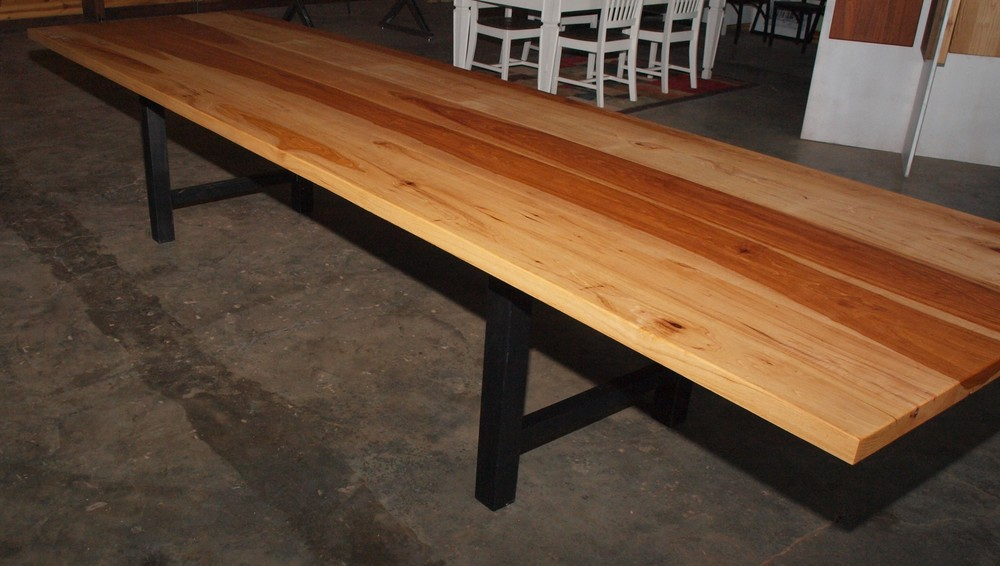 14' Hickory Conference Table
