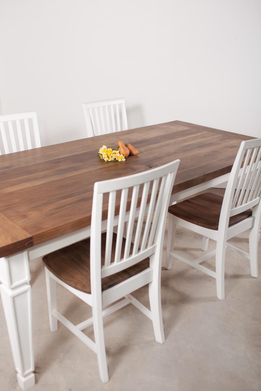 Aged Hickory Farm House Table
