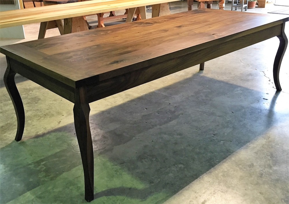 French Country Walnut Table