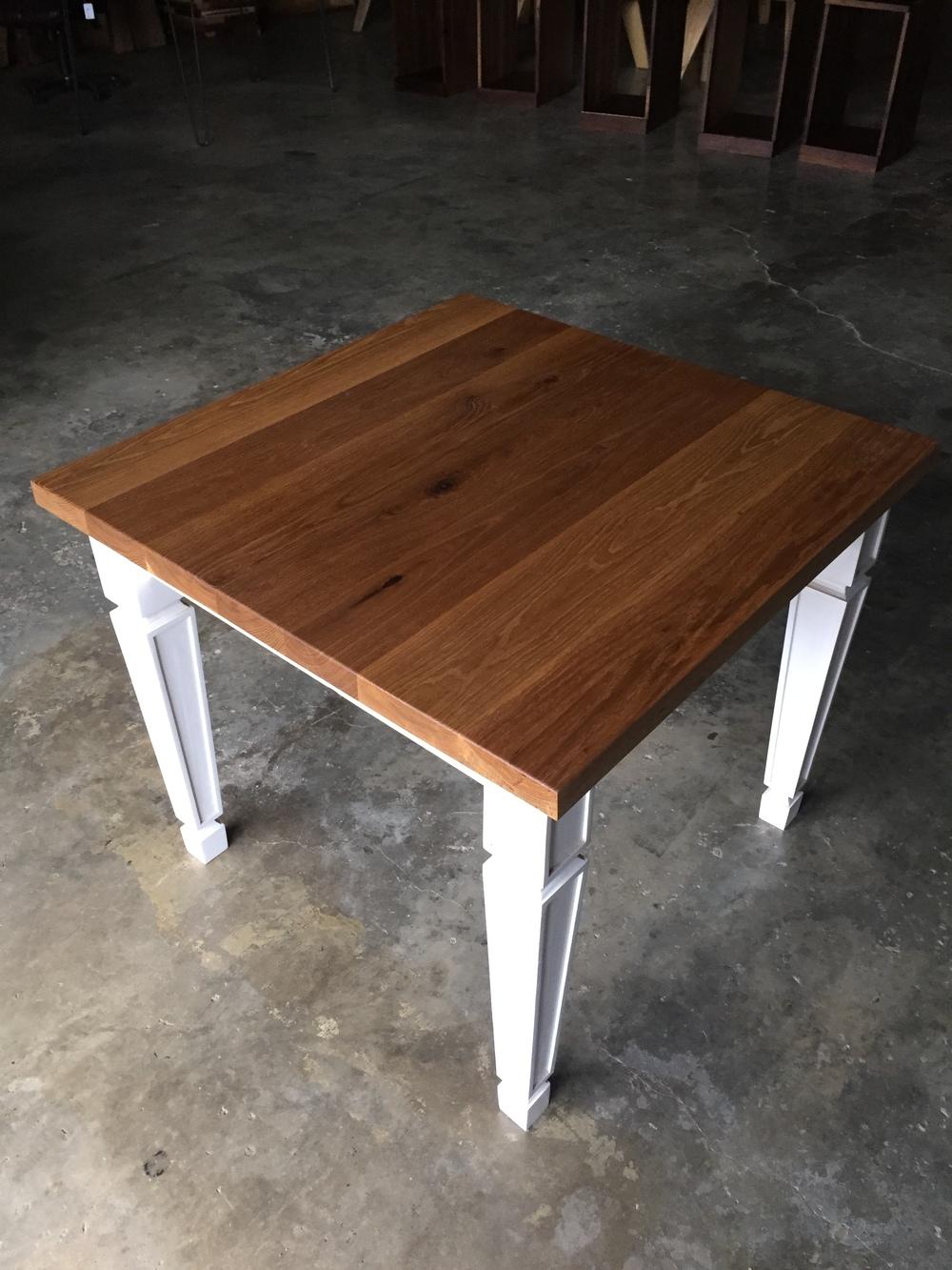 Aged White Oak Table