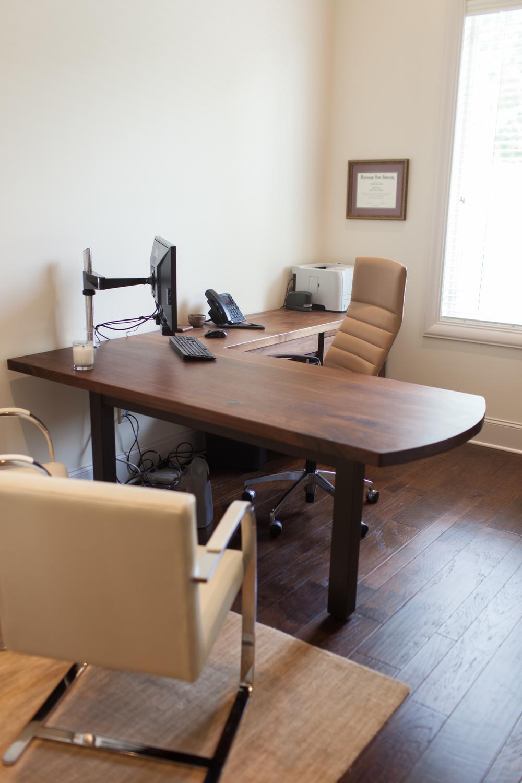 walnut l shaped desk - Lshaped Desk