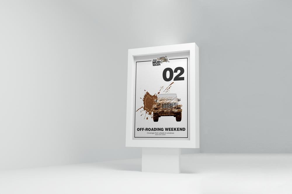 The MudWash will create a buzz around Jeep, ultimately generating conversation around the brand.