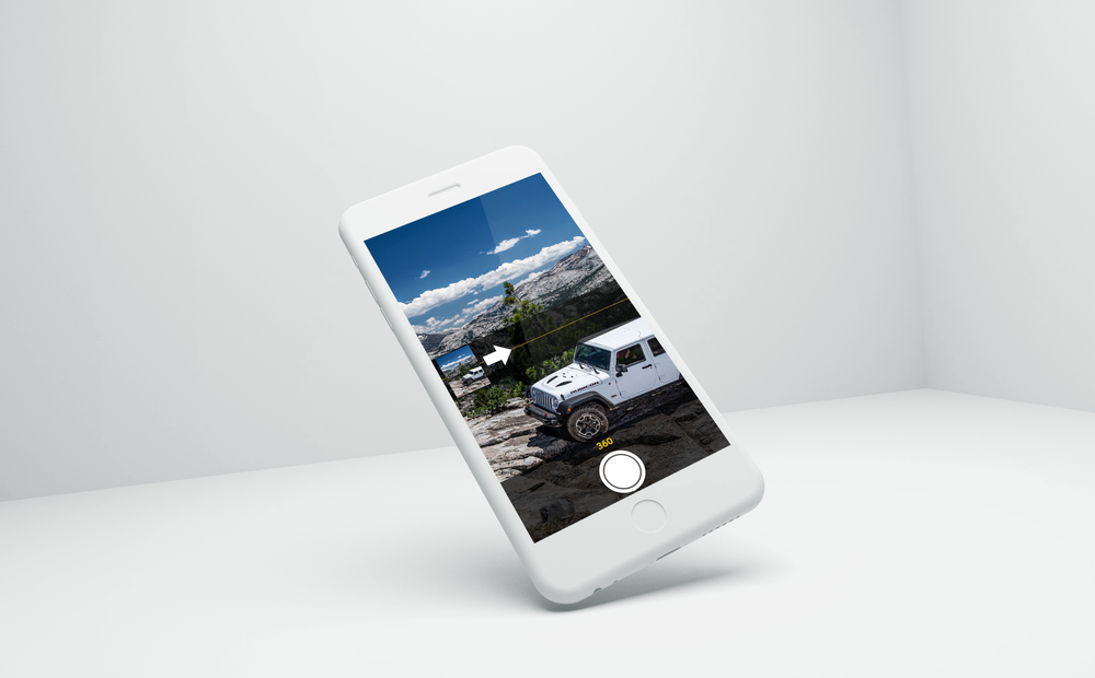 We want to integrate a 360° camera into the app, and modify the photo-viewing capabilities.
