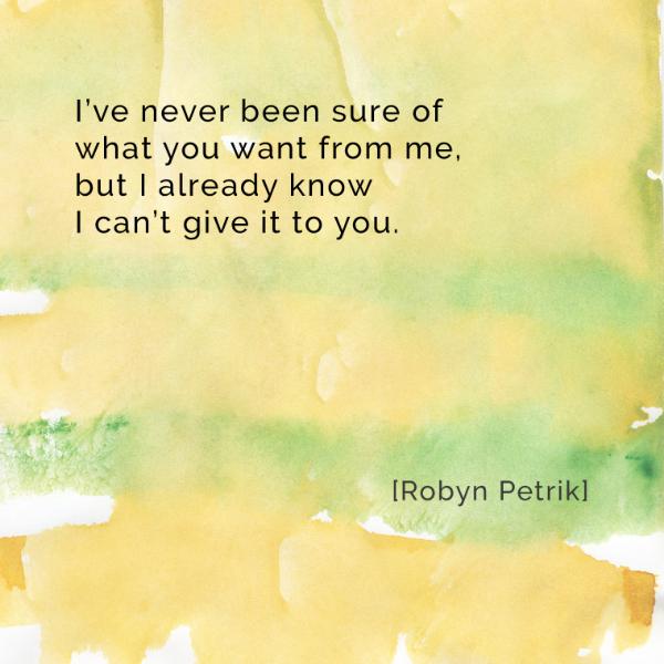 What-You-Want-Robyn-Petrik