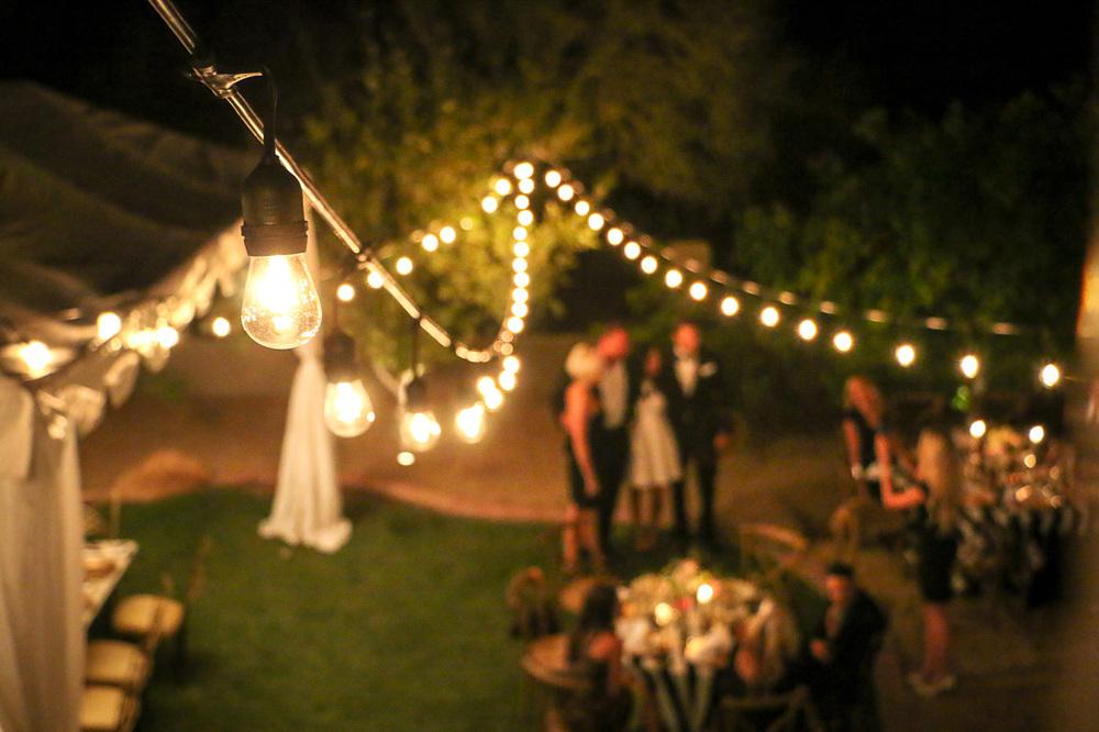 Elegant Arizona tented wedding