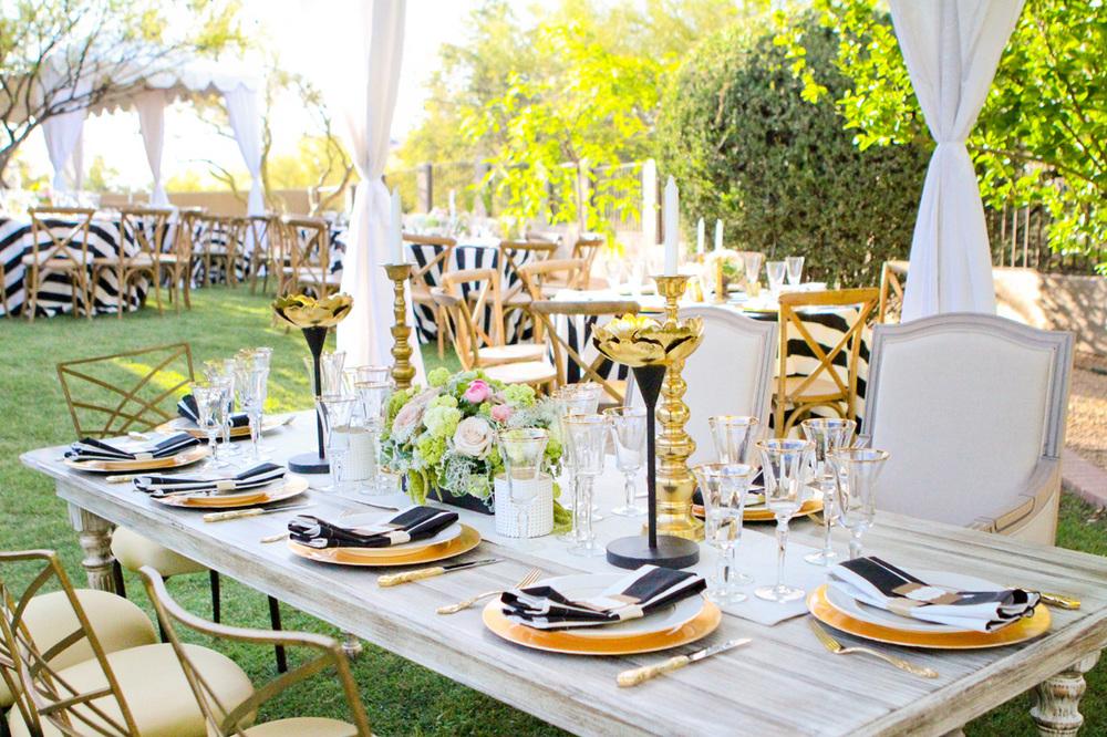 Scottsdale Elegant Backyard Wedding