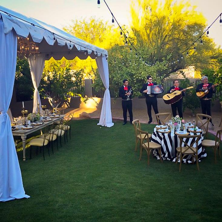 Black Tie Mexican Wedding
