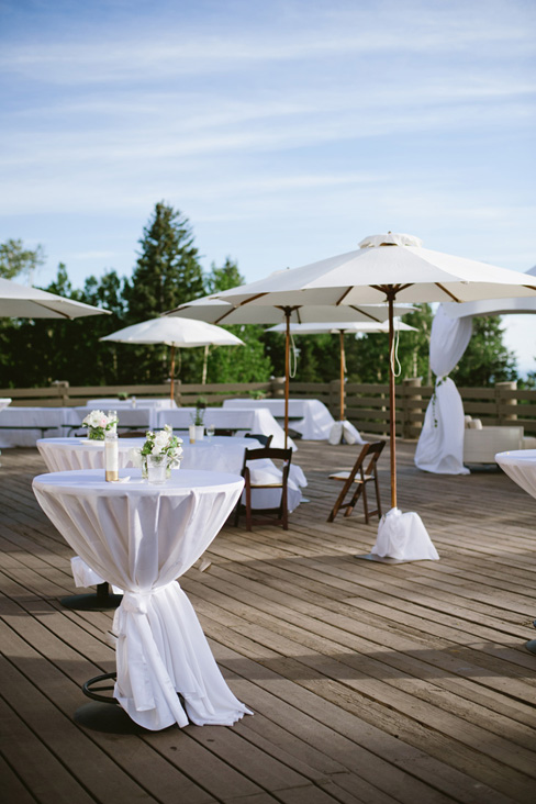 elegaant white wedding