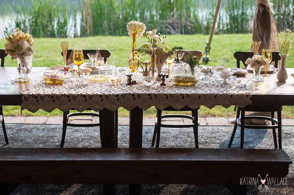 Elegant Vintage Table