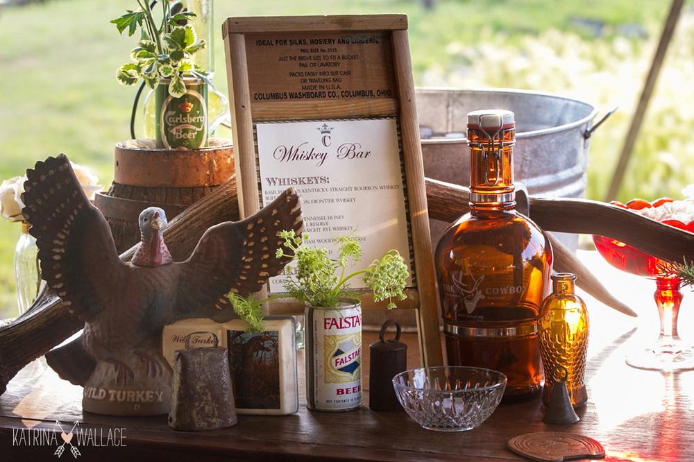 Rustic Whiskey Bar