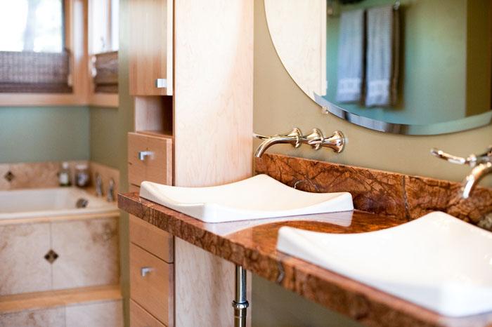 Modern Master Bedroom Bathroom Remodel Kim Duncan Design - Bathroom remodel flagstaff