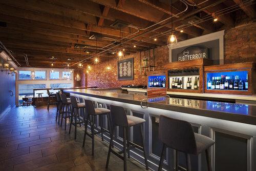 flg terroir wine bar bistro - Commercial Interior Design Blog