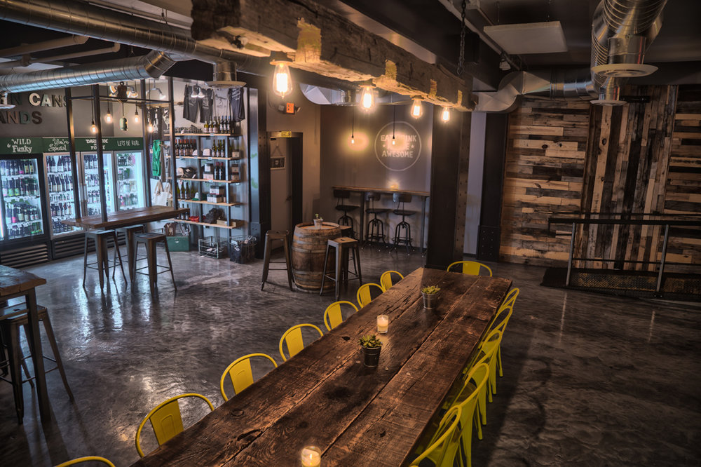 industrial restaurant design