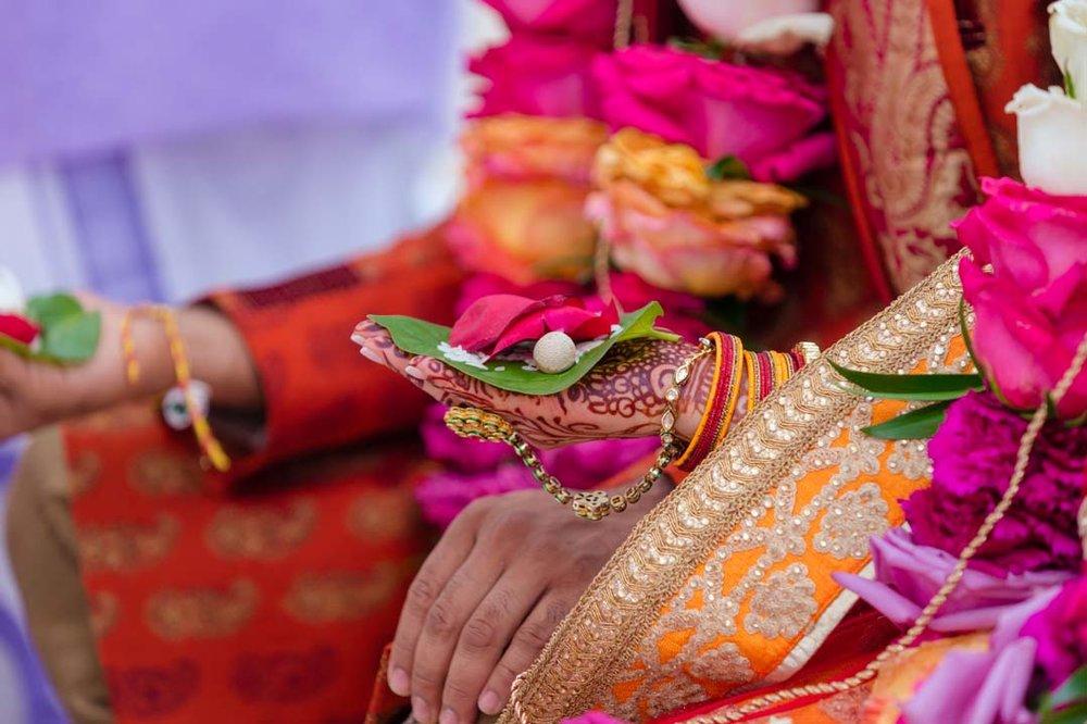 Amanda + Kunal'sIndian Fusion Wedding - The Garden's At ViolasPhotographer: Sameer Soorma