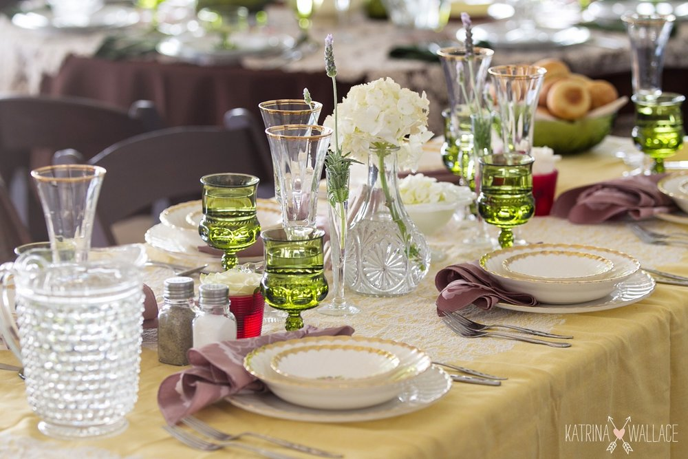 yellow and green place settings.JPG