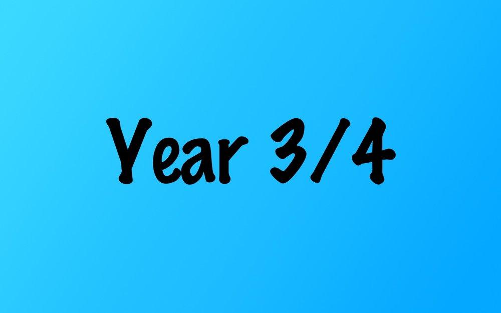 Year 3/4