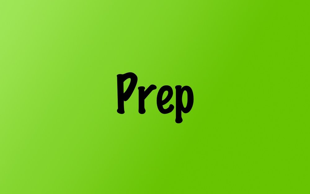 Prep Resources