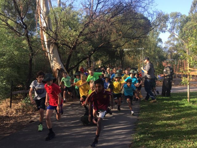 The start of the year 10 race