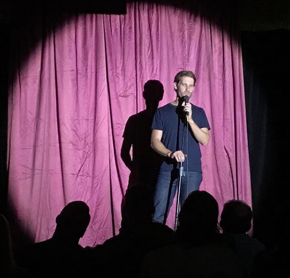 Luke Heggie at The Nasty Show MICF 2018