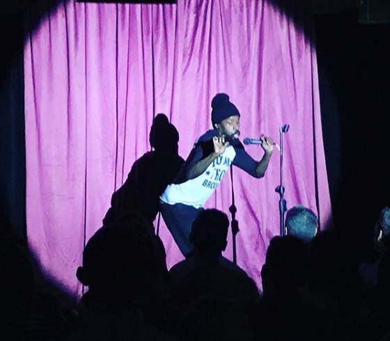 Wil Sylvince at The Nasty Show MICF 2018