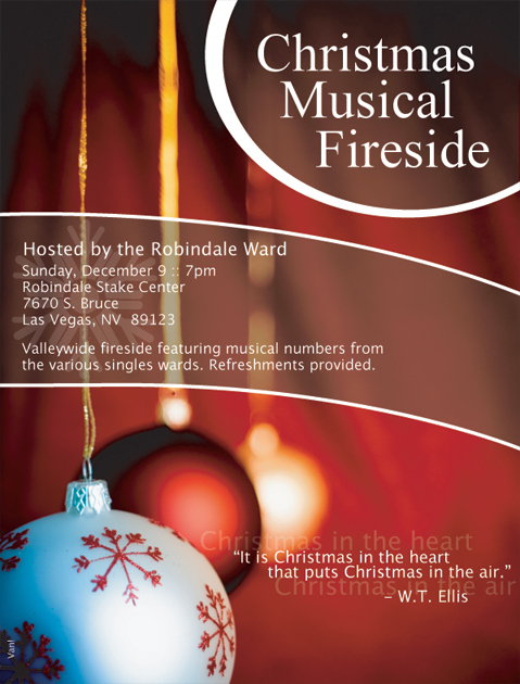 2007 LDS Christmas Musical Fireside