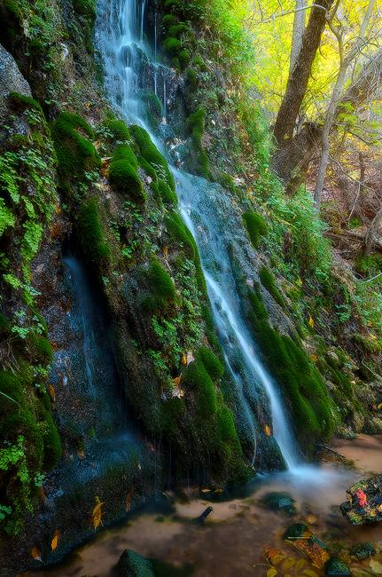 Menu Falls - Zion National Park, Utah