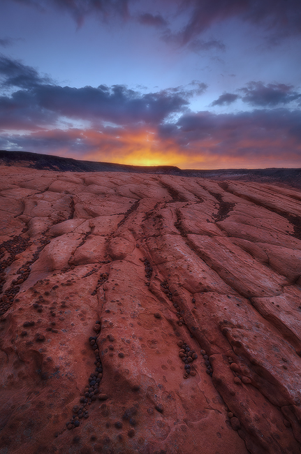 The Break of Dawn - Petrified Sand Dunes, Snow Canyon State Park, UT