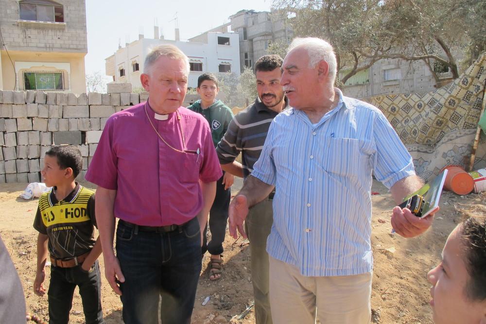 Förre ärkebiskopen i Gaza