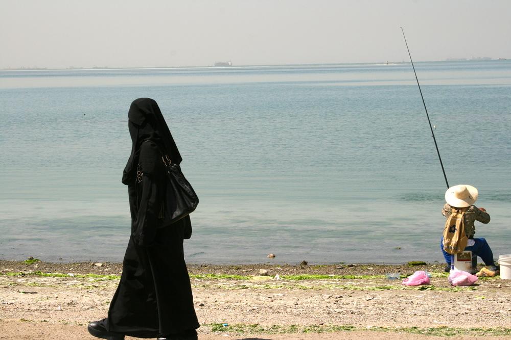 Stilla stund vid Röda havet