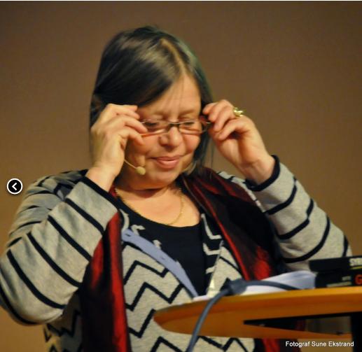 Föreläsning i Växjö om Arabvärldens sekulära diktatorer. Foto: Sune Ekstrand