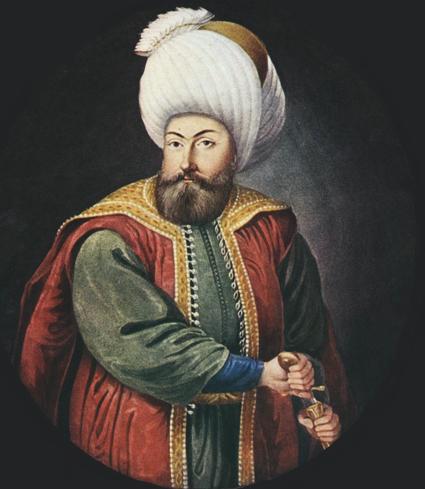 Imperiets grundare Osman, inte Ottoman.