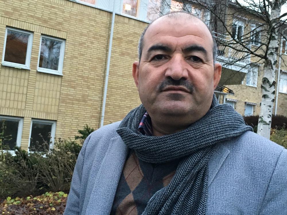 Khider Domle, journalist, människorättsaktivist och författare. Foto: Bitte Hammargren