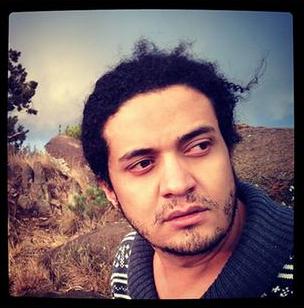 Ashraf Fayadh, från Instagram. Läs mer på  Deutsche Welle.