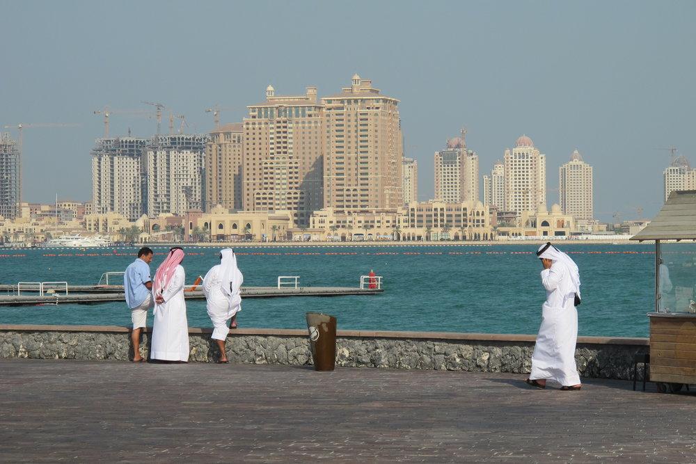 Qatar - isolerat av Saudiarabien, Förenade Arabemiraten, Bahrain och Egypten - har ännu inte böjt sig för påtryckningarna. Foto: Bitte Hammargren