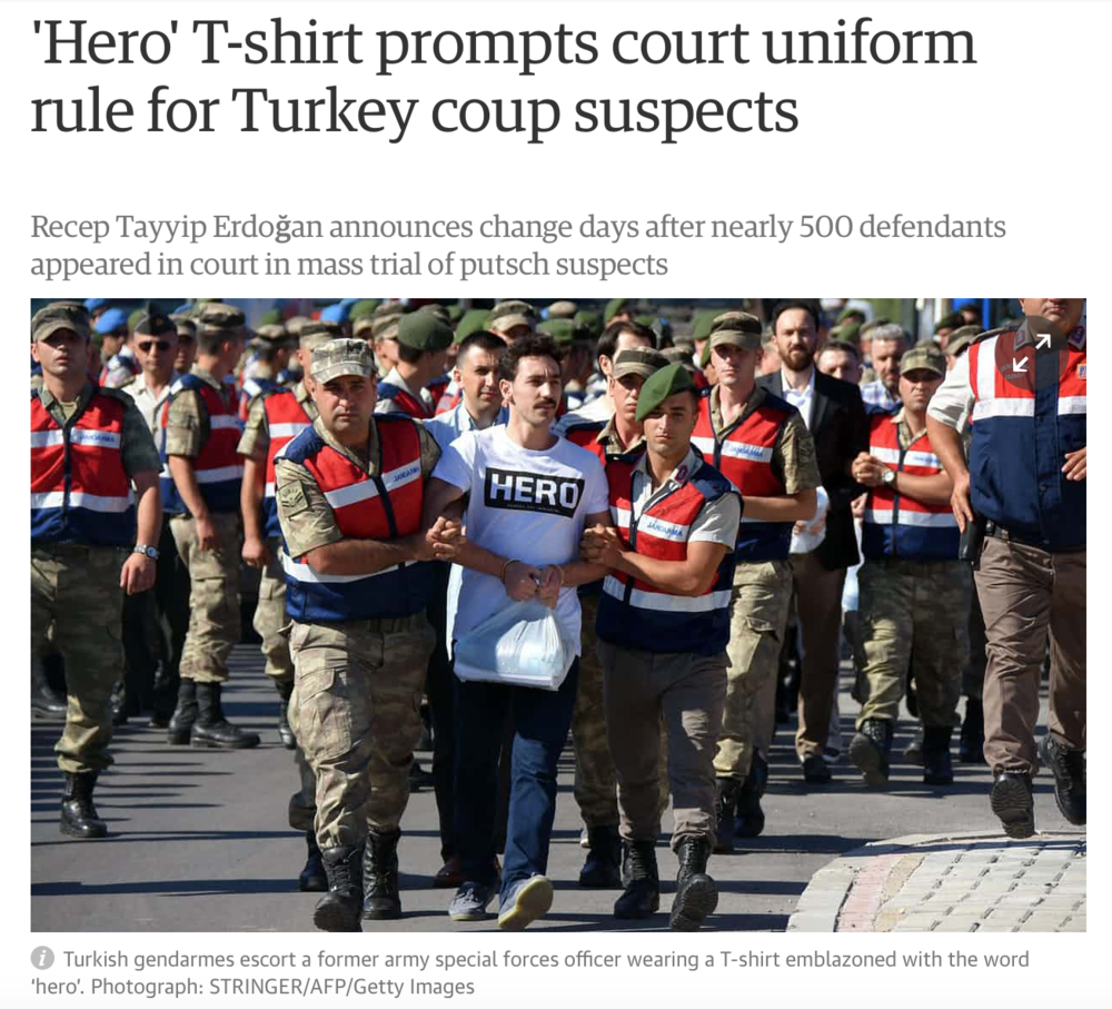 Den åtalade, här påThe Guardians sajt.