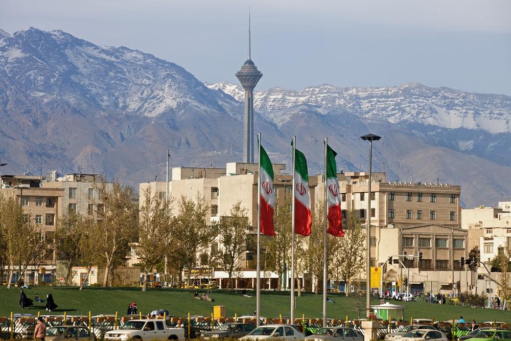 Norra Teheran – med Alborzbergen i bakgrunden. Foto: Shutterstock