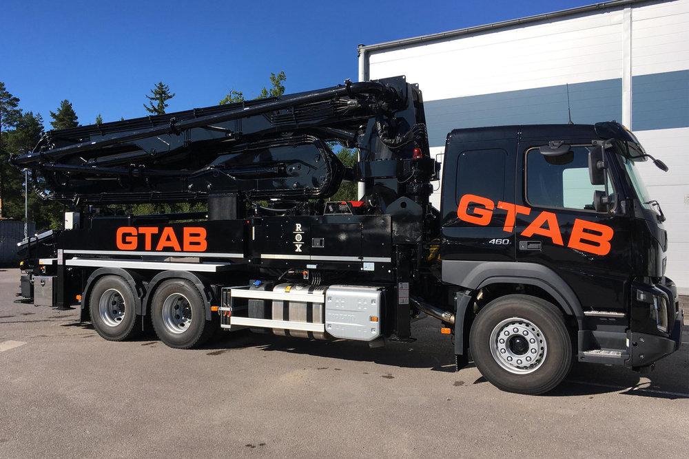GTAB tar in en ny M37 i fordonsparken. Black Pearl blir den tredje mastpumpen i stallet.