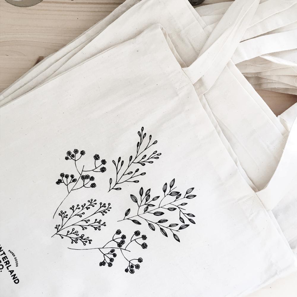 Tote Bag Floraison