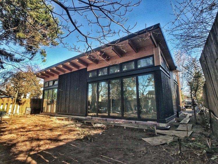 designing a custom home. Butterfly House  Under Construction Project Cost 350K 790 SQFT Custom Home Design Zenbox Design