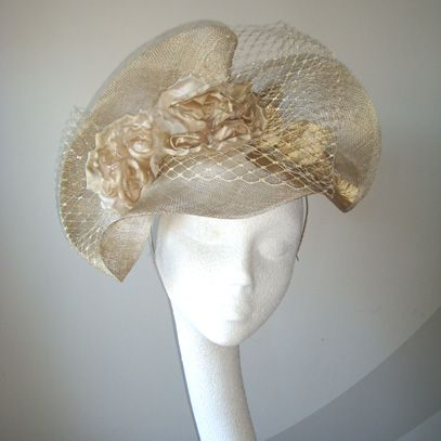 angelique crin fascinator