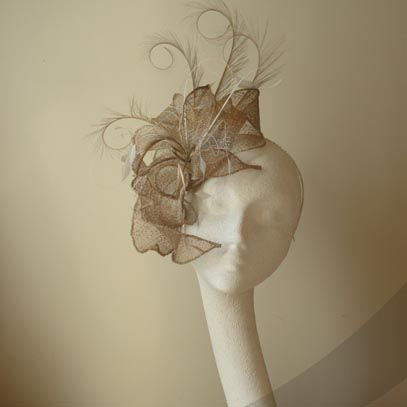 anita sinamay fascinator