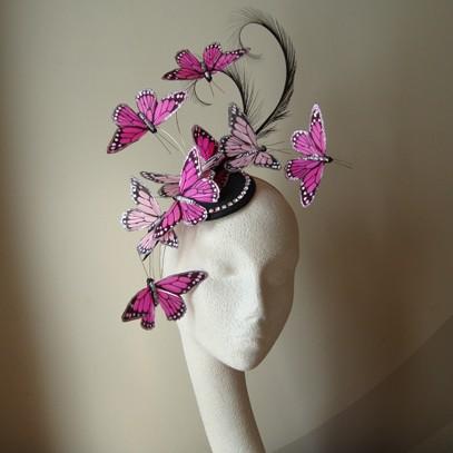 petite papillon  fascinator
