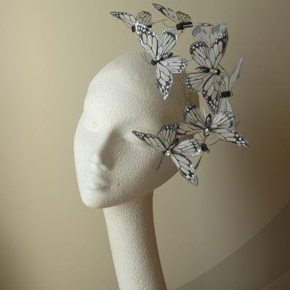 papillon  fascinator