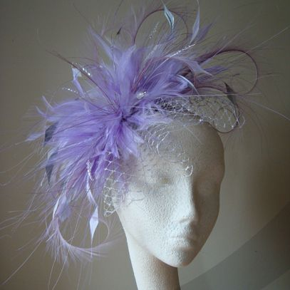 Veiled Belle Deluxe fascinator