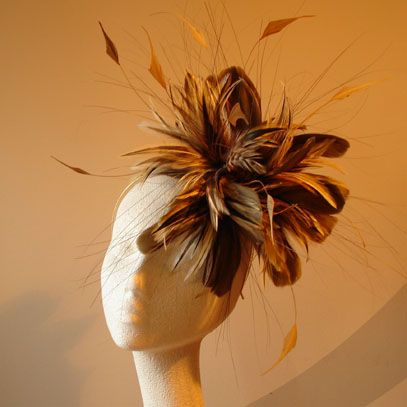 Autumn fascinator