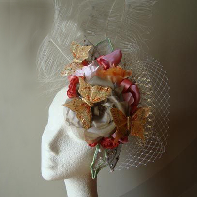 jardin deluxe fascinator