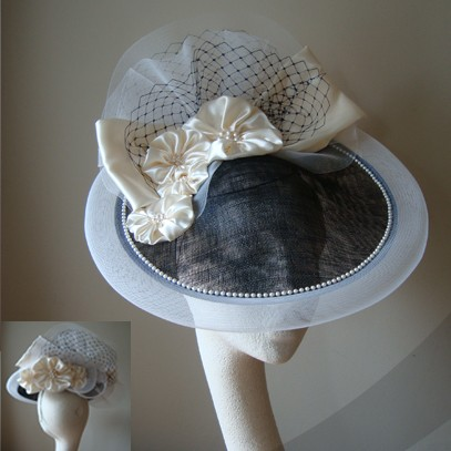 elisabetta saucer hat fascinator
